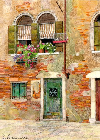 Silvia Armeni Venetian Courtyard Venice Italy What A